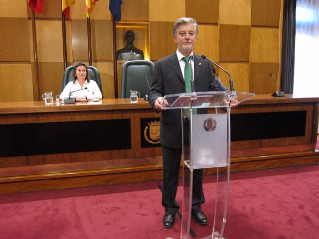 Santisteve en el Debate del estado de la ciudad.