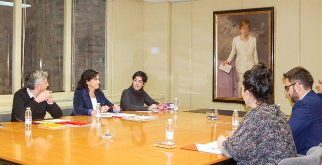 El PSOE se reune hoy con Ciudadanos y mañana con Podemos