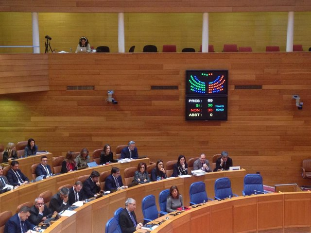 Aprobada la ley de puertos en el Parlamento de Galicia.