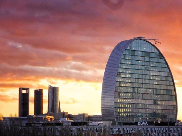 La Vela, edificio BBVA en Madrid