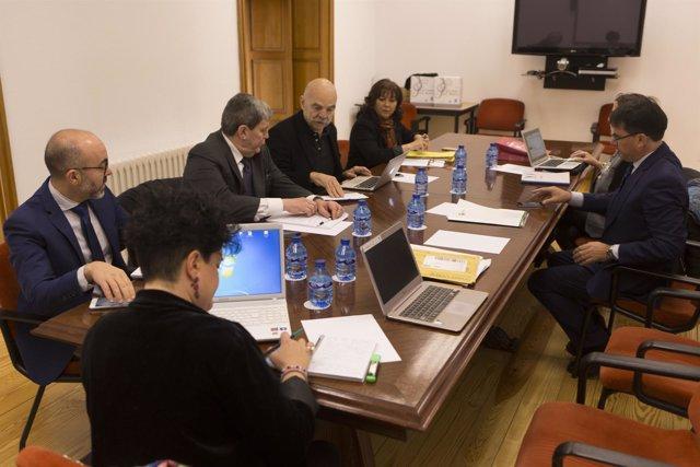 Integrantes del jurado del Miguel Delibes.