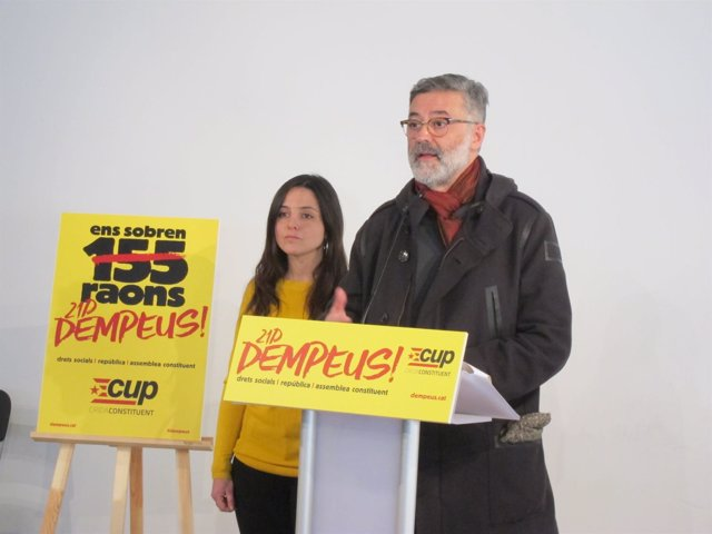 Maria Sirvent, Carles Riera CUP)