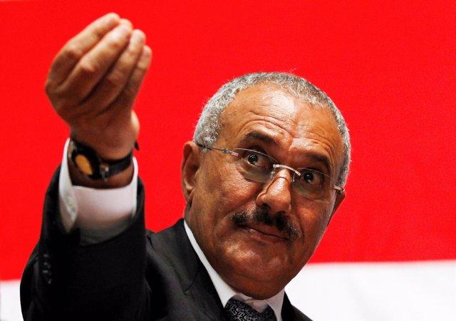 Alí Abdulá Salé en una foto de archivo