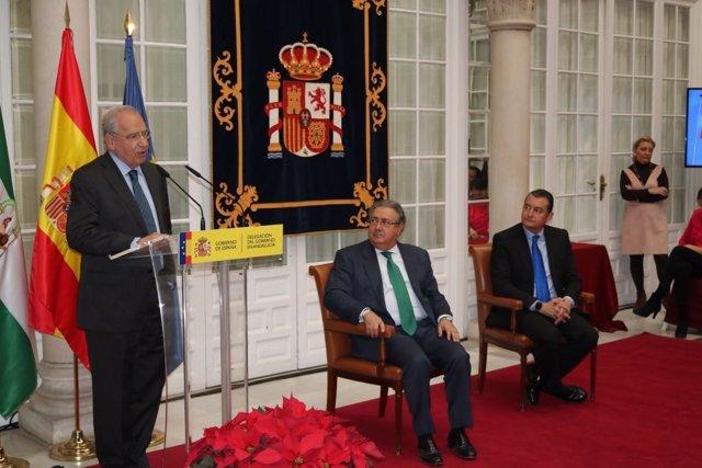 El exvicepresidente del Gobierno Alfonso Guerra
