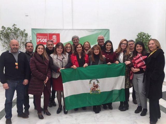 Reunión de la Interparlamentaria del PSOE