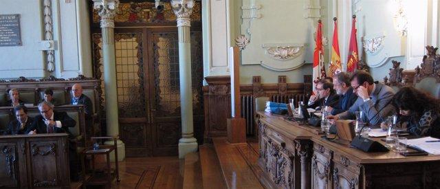 Pleno de diciembre en el Ayuntamiento de Valladolid