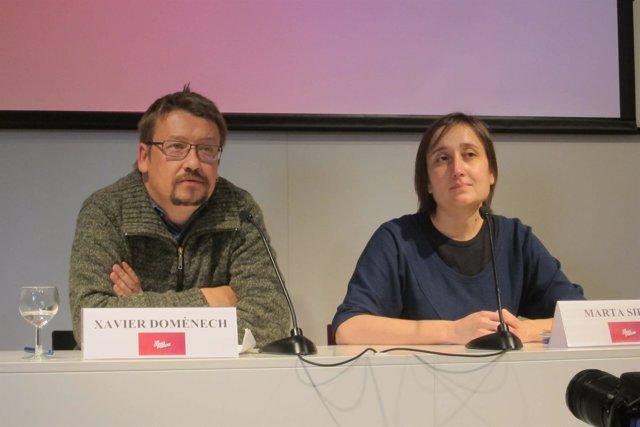 Xavier Domènech y Marta Sibina