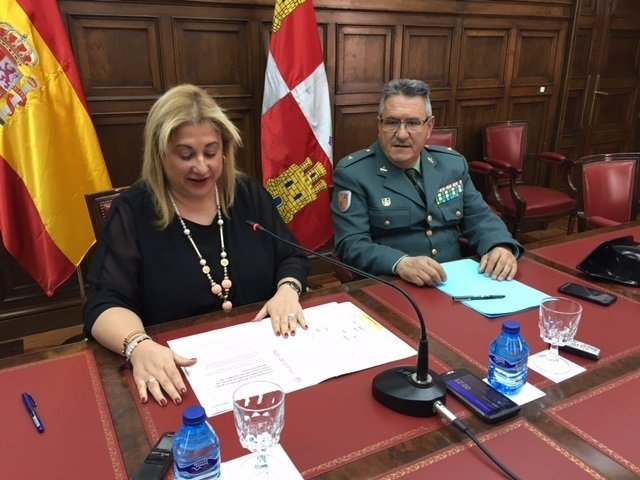 La subdelegada del Gobierno en Soria.