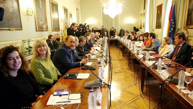 Santamaría y Dastis en la Conferencia para Asuntos Relacionados con la UE