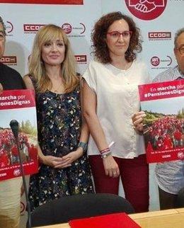 Carmen Castilla (UGT-A) Y Nuria López (CCOO-A)