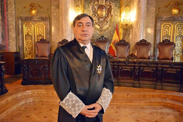 El magistrado del Tribunal Supremo Julián Sánchez Melgar, nuevo fiscal general