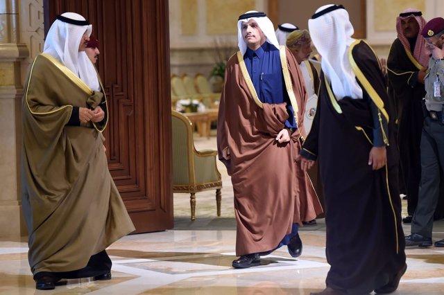 El ministro de Exteriores de Qatar, Mohammed bin Abdulrahman al Thani