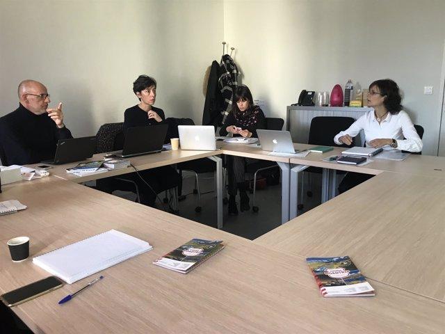Reunión de balance del proyecto 'Pyrénées Trip'