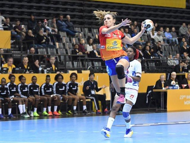 Carmen Martín Guerreras selección española femenina balonmano Mundial Paraguay