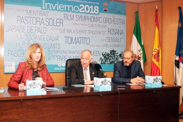 Ortega, Amat y Martín, en rueda de prensa