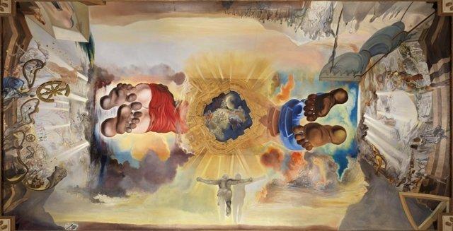 El Palacio del Viento, de Salvador Dalí
