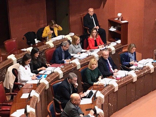 La consejera Violante Tomás presenta los presupuestos de su consejería para 2018