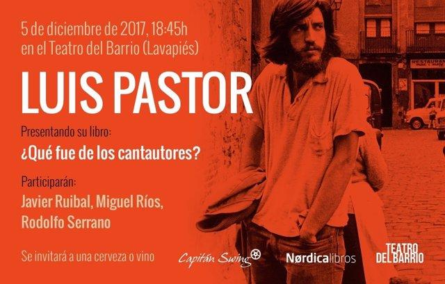 Memorias de Luis Pastor '¿Qué fue de los cantautores?'