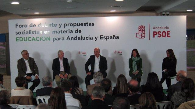 Antonio Ramírez de Arellano,Fco Menacho,Antonio Ruiz,MªLuz Martínez y Sonia Gaya