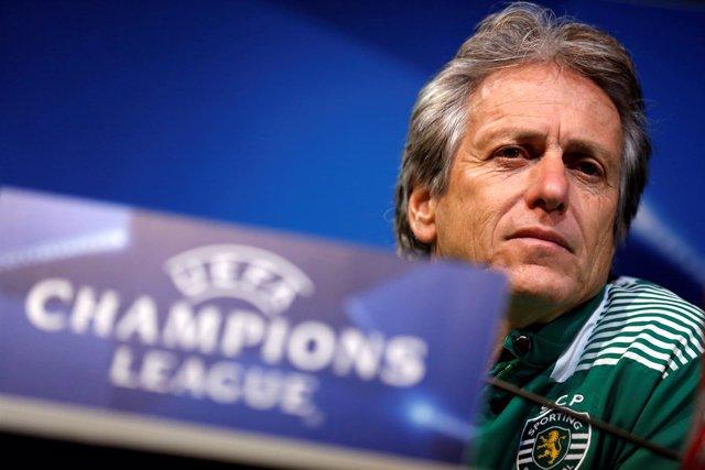 El entrenador del Sporting de Portugal, Jorge Jesus