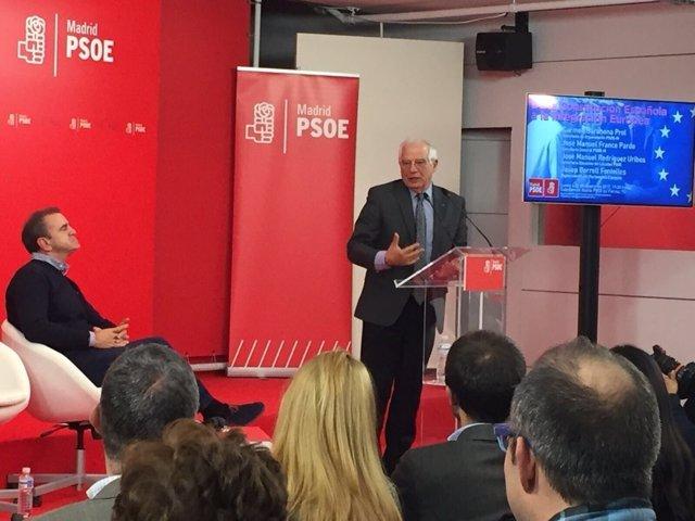 Josep Borrel y José Manuel Franco