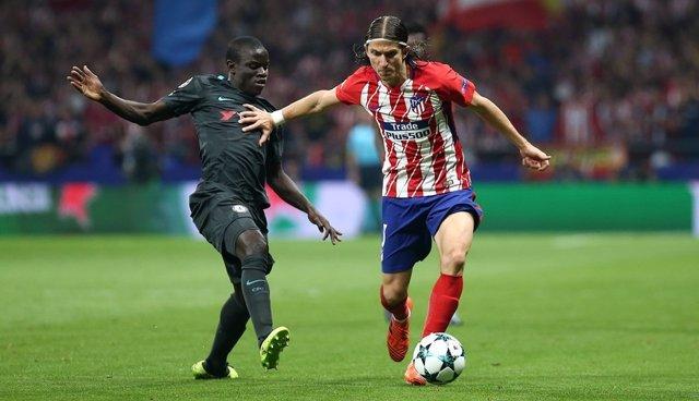 Filipe Luis en el Atlético - Chelsea