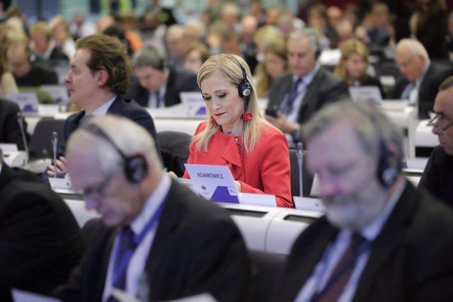 Cifuentes En Bruselas Inicio Del Pleno Del Comité Europeo De Las Regiones Y Deba
