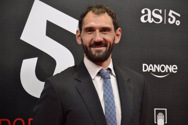 Jorge Garbajosa FEB Premios AS Deporte 50 aniversario