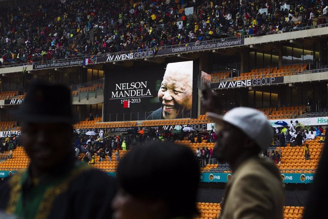 Funeral por Nelson Mandela en Sudáfrica