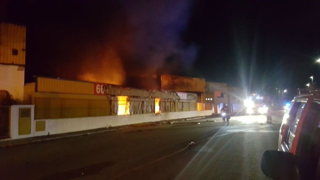 Incendio en L'Alqueria de la Comptessa