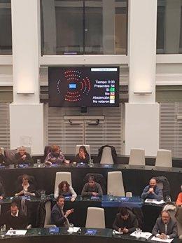 Voto electrónico en el Pleno de Cibeles