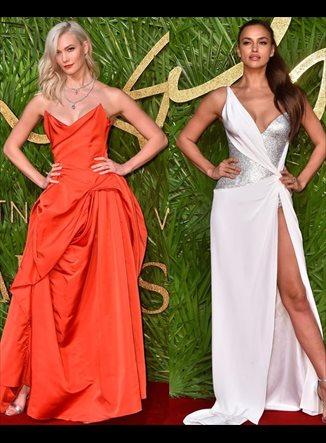 Selena Gomez, Irina Shayk, Naomi Campbell... deslumbran en los Fashion Awards 2017