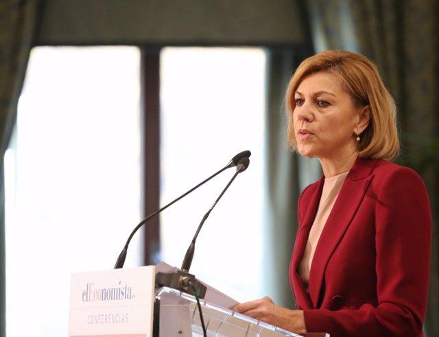 María Dolores de Cospedal inaugura la Jornada Empresarial de ElEconomista