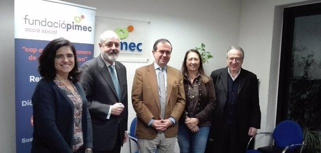 Fundación Pimec y VAE renuevan su colaboración