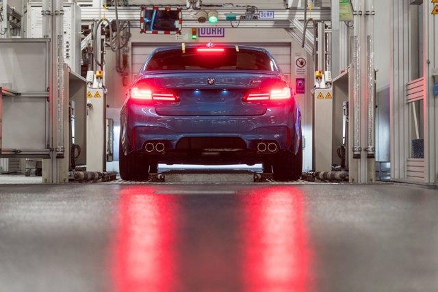 Fábrica de BMW en Alemania con el BMW M5