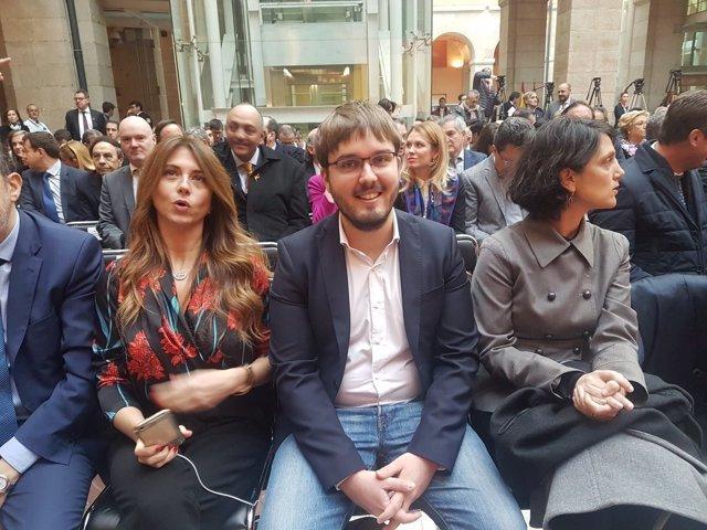 El diputado de Podemos Marco Candela