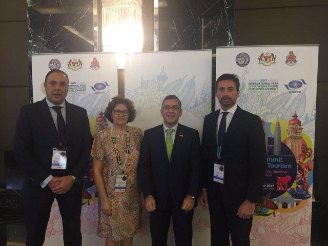 OMT cumbre turismo urbano malasia málaga hernández