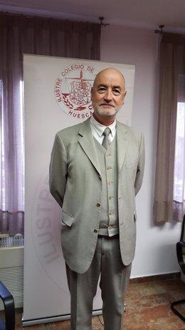 Decano del Colegio de Abogados Huesca, Angel García Bernués