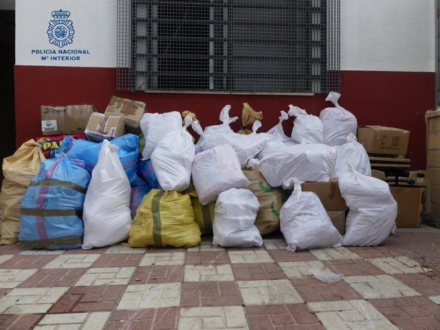 Droga intervenida en Ceuta