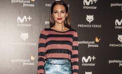 Paula Echevarría anuncia los nominados a los Premios Feroz sin ninguna nominación para ella