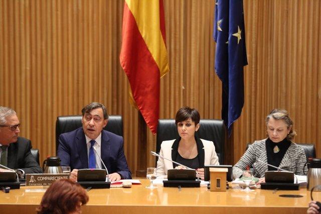 Comparecencia en el Congreso de Julián Sánchez Melgar, nuevo fiscal general