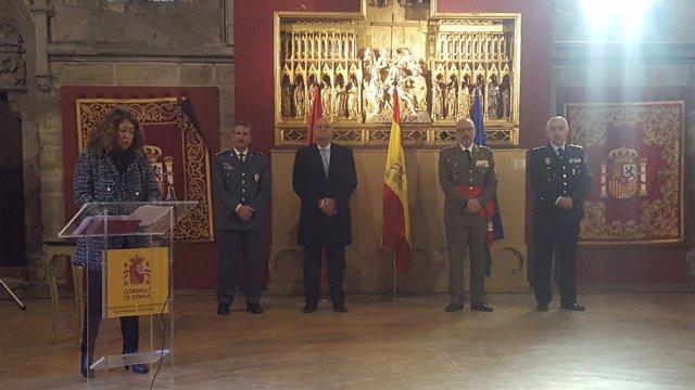 Carmen Alba, delegada del Gobierno en Navarra.