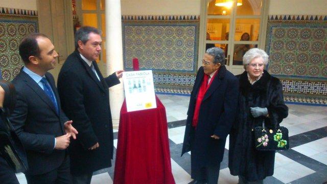 Mariano Bellver y Espadas visitan la Casa Fabiola.