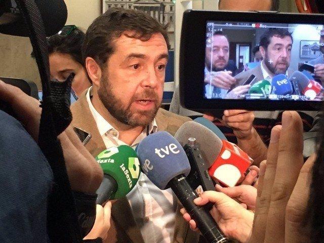 Miguel Gutiérrez, secretario general del grupo de C's