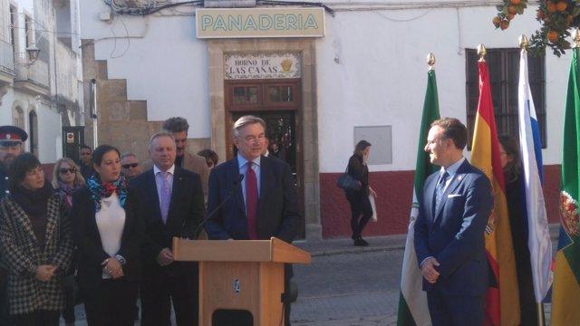 El embajador ruso en España, Yuri Korchagin
