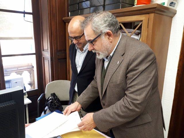 Cs pregunta a Noguera qué acto administrativo le ha permitido alterar la ceremonia de la Festa de l'Estendard