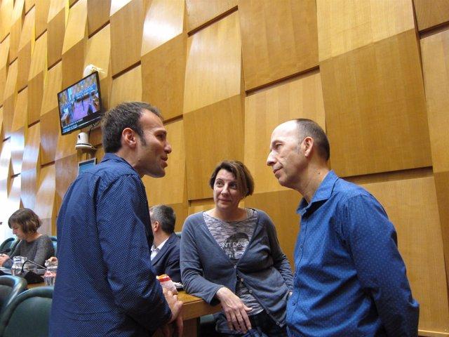 Pablo Muñoz, De ZEC, Habla Con Concejales De CHA