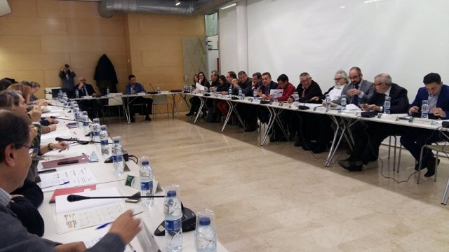 Reunión pacto de Comercio