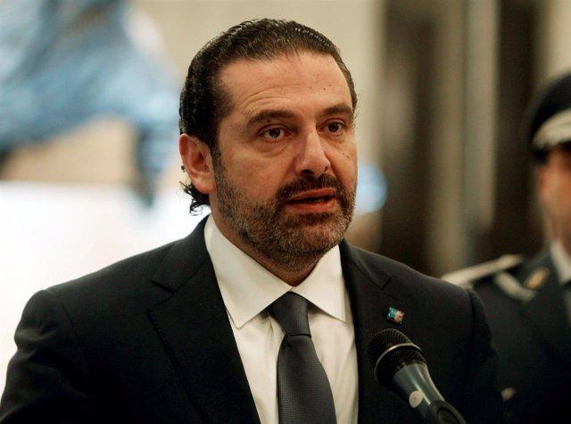 El primer ministro libanés, Saad Hariri