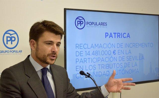 Beltrán Pérez prepara su propuesta de presupuesto para 2018.